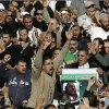Supporters of the Muslim Brotherhood and Egyptian President Mohammed Morsi, chant slogans during the funeral of three victims who were killed during Wednesday\'s clashes outside Al Azhar mosque, the highest Islamic Sunni institution, Friday, Dec. 7, 2012. During the funeral, thousands Islamist mourners chanted,