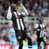 Newcastle United\'s Demba Ba, is seen during their English Premier League soccer match against Manchester City at the Sports Direct Arena, Newcastle, England, Sunday, May 6, 2012. (AP Photo/Scott Heppell)