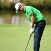 Photo - Finland's Mikko Ilonen birdie putts on the 18th to stay in the lead on 12 under for the competition during day three of the 2014 Irish Open at Fota Island Resort, County Cork, Ireland, Saturday, June 21, 2014. (AP Photo/Brian Lawless, PA Wire)    UNITED KINGDOM OUT  NO SALES  NO ARCHIVES