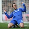 Photo - Chelsea's Eden Hazard celebrates after scoring the second goal of the gane during their English Premier League soccer match between Chelsea and Newcastle United in London, Saturday, Feb. 8  2014. (AP Photo/Alastair Grant)