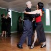 Instructor Hazel Lopez-Crutcher, right, dances with Glen Emerson during an Argentine Tango event at the International Dance Studio, 3001 NW 73rd St., in Oklahoma City, Friday, May 14, 2010. Some of the people who attend the Argentine Tango dances learned about the event through Meetup.com. Photo by Nate Billings, The Oklahoman