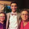 This June 2012 photo provided by the family shows Joan Koffman, left, Nancy Dreyer and their son Gabe Dreyer in Newton, Mass. Nancy Dreyer says,