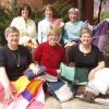 Knit-Wits: Back row, left to right: Joyce Stewart, Cheryl Melton, Janice Segell. Front row, left to right: Martha Van Hook, Margaret Bauer, Ann Truscott (Jan Ephraim not pictured). Community Photo By: Nancy Woodard Submitted By: Nancy, Oklahoma City