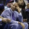 Photo - Cleveland Cavaliers head coach Byron Scott watches from the bench during the first half of an NBA basketball game against the Charlotte Bobcats in Charlotte, N.C., Wednesday, April 17, 2013. (AP Photo/Chuck Burton)