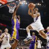 Oklahoma City\'s Eric Maynor (6) looks to pass the ball away from DJ Mbenga (28) of Los Angeles as Ron Artest (37), Kobe Bryant (24) and Jordan Farmar (1) of Los Angeles look on with Nenad Krstic (12) and Jeff Green (22) of Oklahoma City during the NBA basketball game between the Los Angeles Lakers and the Oklahoma City Thunder at the Ford Center in Oklahoma City, Friday, March 26, 2010. Photo by Nate Billings, The Oklahoman