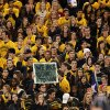 Baylor students are certain of a win for their team during the NCAA college football game between the University of Oklahoman (OU) Sooners and the Baylor Bears at Floyd Casey Stadium in Waco, Texas, Thursday, Nov. 7, 2013. Photo by Jim Beckel, The Oklahoman
