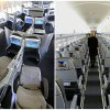 "Photo - This combination of Associated Press file photos show, on the left, a first class interior section of a United Airlines 747 plane at San Francisco International Airport in San Francisco in 2011, and on the right, the coach interior section of  a JetBlue E190 plane at  Seatac International Airport in Seattle, in 2008.  Henry Harteveldt, an airline analyst with Hudson Crossing says ""First class has become a way for a traveler to have an almost private jet-like experience."" (AP Photo/File)"