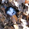 Baby Girl plays in a pile of leaves. Community Photo By: Lesa Boles Submitted By: Lesa, Edmond