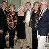 PARTY TO REMEMBER...Cliff Conkle, Barbara Beeler, Marty Conkle, Dr. Dick Clay, Alma Lynch and Tracy Johnson. (Photo by Helen Ford Wallace).