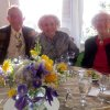 Jim Vallion, Ann Alspaugh and Joan Gilmore were at the party. (Photo by Helen Ford Wallace).