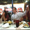 Chase Ervin, left, Kara Craig, Tory Ervin and Robbie Yarborough, right, react as they watched The University of Oklahoma (OU) play Boise State at Coach\'s restaurant on Main Street in Norman, Okla., on Monday, January 1, 2007. By Michael Downes, The Oklahoman