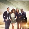 "Photo -  ""American Idol's"" Ryan Seacrest, Jennifer Lopez, Steven Tyler and Randy Jackson - Fox Photo by Tony Duran"