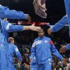 NBA BASKETBALL: Oklahoma CIty\'s Kevin Durant is introduced before a preseason NBA game between the Oklahoma City Thunder and the Dallas Mavericks at Chesapeake Energy Arena in Oklahoma City, Tuesday, Dec. 20, 2011. Photo by Bryan Terry, The Oklahoman