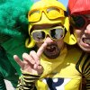 New York-based Japanese rockers Peelander-Z. PHOTO PROVIDED