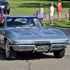 Photo -  Roland Walters drives his Corvette in the Nichols Hills parade. Walters bought his car new in 1963. Photo by M. Tim Blake, for The Oklahoman   M. Tim Blake