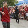 OU\'s Kenny Stills arrives for the Red River Rivalry college football game between the University of Oklahoma (OU) and the University of Texas (UT) at the Cotton Bowl in Dallas, Saturday, Oct. 13, 2012. Photo by Bryan Terry, The Oklahoman