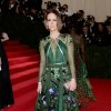 """Sarah Paulson attends The Metropolitan Museum of Art\'s Costume Institute benefit gala celebrating """"Charles James: Beyond Fashion"""" on Monday, May 5, 2014, in New York. (Photo by Evan Agostini/Invision/AP)"""
