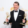 "Bryan Cranston, winner of the award for outstanding lead actor in a drama series for his work in ""Breaking Bad,"