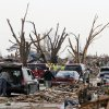 Volunteers and workers were out in force in the tornado devastated part of Moore, OK, Thursday, May 23, 2013, Photo by Paul Hellstern, The Oklahoman