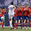 Photo - FILE - In this Jan. 27, 2012, file photo, United States' Carli Lloyd (10) takes a free kick against Costa Rica during the second half of CONCACAF women's Olympic qualifying soccer game action at B.C. Place in Vancouver, British Columbia. A group of players from the U.S. women's national team, who will vie for a spot in the World Cup in October qualifying, have joined with several international players in protesting the turf surfaces for next summer's big event in Canada. (AP Photo/The Canadian Press, Jonathan Hayward, File)
