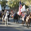 Members of the Payne County Sheriff\'s Dept. ride in the Oklahoma State Cowboy\'s homecoming parade in downtown Stillwater, OK, Saturday, Oct. 29, 2011. By Paul Hellstern, The Oklahoman