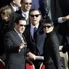 Taiwan\'s President Ma Ying-jeou, left, and his wife Chow Mei-chin arrive in St. Peter\'s Square for Pope Francis\' inaugural Mass, at the Vatican, Tuesday, March 19, 2013. (AP Photo/Andrew Medichini)
