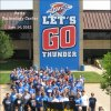 Hertz Technology Center in Oklahoma City, Okla. showing Thunder Pride
