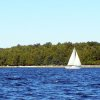 The waters of Lake Michigan provide ample opportunity for sailing along the peninsula of Door County, Wis. Amy Raymond, The Oklahoman