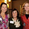 Julie Hall, Mary Robideaux, Cacky Poarch were at the Junior League Sustainer\'s event in Hall\'s home. PHOTO PROVIDED