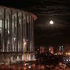Photo - View of the National Stadium with moonrise after the third place finish World Cup match between Brazil and the Netherlands, outside the National Stadium in Brasilia, Brazil, Saturday, July 12, 2014. Because the moon is relatively close to Earth, the full moon today will appear to be unusually large. The full moon Saturday may seem huge, but it's just an illusion caused by its position in the sky. (AP Photo/Eraldo Peres)