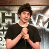 Photo - In this Dec. 16, 2012 photo, 14-year-old comedian Zach Rosenfeld performs his stand-up routine during the