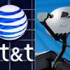 Photo - This combo made from file photos shows the AT&T logo on the side of a corporate office in Springfield, Ill., left, and a DirecTV satellite dish atop a home in Los Angeles. Priming itself for the age of Internet-delivered video, AT&T Inc. on Sunday, May 18, 2014 said it would buy DirecTV for $48.5 billion in cash and stock, or $95 per share. (AP Photo)