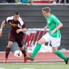 Photo -  Kyle Greig, right, dribbles the ball during the OKC Energy FC's preseason game against the Midwestern State University Mustangs at Yukon on March 29. Photo by Steven Christy/Oklahoma City Energy FC   Steven Christy -  Steven Christy