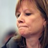 Photo - GM CEO Mary Barra pauses while testifying on Capitol Hill in Washington, Thursday, July 17, 2014, before a Senate Commerce subcommittee hearing examining accountability and corporate culture in wake of the GM recalls. (AP Photo/Lauren Victoria Burke)