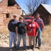 University of Central Oklahoma geographers (L-R) Douglas Hurt, Brianna Spears, Kim Penrod, and Ajax Delvecki relax after helping El Cerrito, New Mexico residents clean their village irrigation ditch on April 8, 2006. Community Photo By: Douglas A. Hurt Submitted By: D, Edmond
