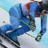 Photo - Slovenia's Tina Maze makes a turn in the second run of the women's giant slalom to win the gold medal at the Sochi 2014 Winter Olympics, Tuesday, Feb. 18, 2014, in Krasnaya Polyana, Russia. (AP Photo/Alessandro Trovati)
