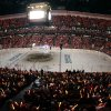 Photo - Fans attend Game 1 of a first-round NHL hockey Stanley Cup playoff series between the Anaheim Ducks and the Detroit Red Wings in Anaheim, Calif., Tuesday, April 30, 2013. (AP Photo/Chris Carlson)