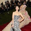 """Jessica Pare attends The Metropolitan Museum of Art\'s Costume Institute benefit gala celebrating """"Charles James: Beyond Fashion"""" on Monday, May 5, 2014, in New York. (Photo by Charles Sykes/Invision/AP)"""