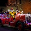 A fire truck makes its way down the street during the Parade of Lights in Edmond, Okla., Thursday, December 2, 2010. Photo by Bryan Terry, The Oklahoman