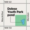 Photo - MAP / GRAPHIC: Dolese Youth Park pond