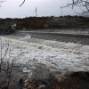 Photo - The Truckee River, seen in Verdi, Nev., west of Reno, swells as a heavy, wet storm hits Northern Nevada on Sunday, Dec. 2, 2012. (AP Photo/Cathleen Allison)