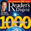 In this 2005 magazine cover provided by Reader\'s Digest magazine, the 1,000th issue of the 83-year-old mini magazine, is shown. The parent company of Reader\'s Digest has filed for Chapter 11 bankruptcy protection for the second time in less than four years on Monday, Feb. 18, 2013, saying it needs to cut its debt so it can keep restructuring. (AP Photo/Reader\'s Digest, file) NO SALES