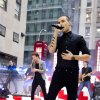 One Direction member Liam Payne performs on NBC\'s