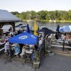 Photo - In this May 30, 2014 picture, diners sit on an outdoor patio on the banks of Mill Creek at Jimmy Cantler's Riverside Inn in Annapolis, Md. (AP Photo/Patrick Semansky)