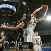 Okarche\'s John Schaefer (31) grabs a rebound next to Wright City\'s Barry Williams (20) during a quarterfinal game between Wright City and Okarche in the Class A boys high school basketball state tournament at State Fair Arena in Oklahoma City, Thursday, March 1, 2012. Okarche won, 59-47. Photo by Nate Billings, The Oklahoman