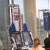 CLAY BENNETT HONORED....The Thunder organization donated items from the Thunder\'s inaugural season to the Oklahoma History Center. ( Photo by Helen Ford Wallace).