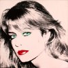 "Photo - This photo released by courtesy of the Blanton Museum of Art shows Andy Warhol's painting of ""Farrah Fawcett,"" 1980. The painting was bequeathed by Fawcett to the University of Texas at Austin in 2010. The university is suing Oscar-nominated actor Ryan O'Neal to gain possession of a second Fawcett portrait done by Warhol. Attorneys for the University of Texas at Austin and O'Neal each made their arguments to a Los Angeles jury on Monday Dec. 16, 2013that their clients are rightful owner of a disputed Andy Warhol portrait of the late Farrah Fawcett. (AP Photo/Blanton Museum of Art, Copyright The Andy Warhol Foundation for the Visual Arts) **MANDATORY PHOTO CREDIT**"