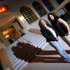 Ghost Divas Tammy Wilson, left, and Tonya Hacker pose for a photo with at the Elks Lodge, 415 S Rock Island Avenue, in El Reno, Okla., Wednesday, September 19, 2007. ParaCon 2007 will happen at the historic Elks Lodge. By Nate Billings, The Oklahoman