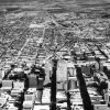 OKLAHOMA CITY / SKY LINE / OKLAHOMA / AERIAL VIEWS / AERIAL PHOTOGRAPHY / AIR VIEWS: No caption. Photo undated and unpublished. Photo arrived in library on 10/10/1933.