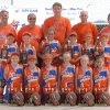Bock Stars 8 & Under Girls Slow Pitch team combined of Oklahoma and Arkansas Players Left to right 1st row: Madison Klomfas #2, Abbey LeJong #13, Hope Moses #5, Bryanna Flanagan #7, Hailey Ostrander #4, and Kylee Cusicke #3 2nd row: Hillary Calvert #10, Nina Echelle #25, Devyn Gregory #1, Destini Jones # 15 Casady Mills #27, and Mackenzie Townsend #11 Top row Coaches (Left to Right): Mike Mills, Mike Bock, Bobby Gregory, Mike LeJong and Bob Calvert The girls won double Arkansas titles (ASA and USSSA for 8 & Under girls slow pitch) and they won double National Invitation Titles from Arkansas and Kentucky for Girls 8 & under slow pitch----see story attached. Community Photo By: Rita Echelle Submitted By: Laurie,